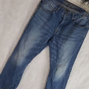 Mens AMERICAN EAGLE denim relaxed Jean's 34×32